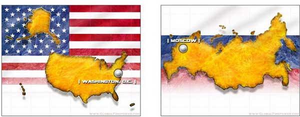 Если сравнивать военную мощь России и США