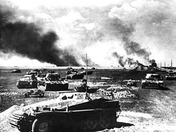 И один в поле воин. Как всего один артиллерист застопорил мощную немецкую танковую колонну